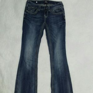 Eb rock for express boot cut jeans